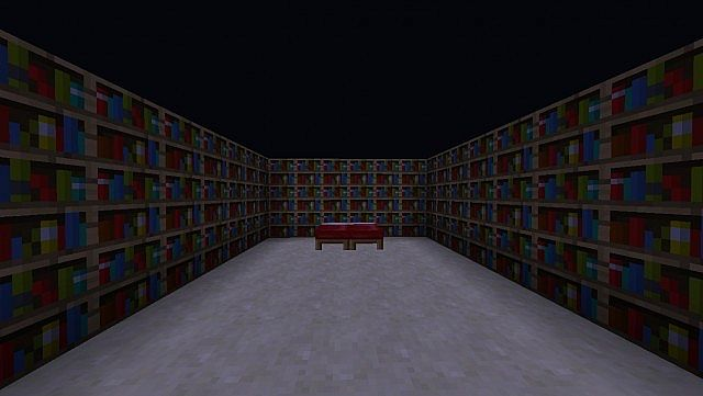 Furniture ideas minecraft project for Bedroom ideas for book lovers