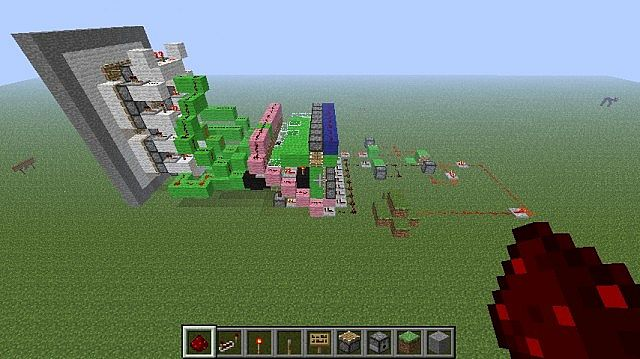 how to make a redstone clock in minecraft