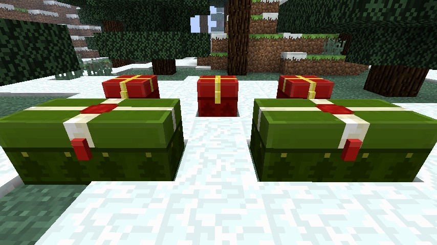 How To Use Christmas Chests Minecraft Blog