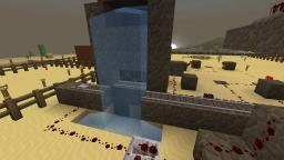 Waterfall minecart bridge Minecraft Map & Project