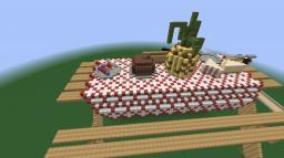 giant picnic table Minecraft Map & Project
