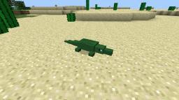Crocodile Mod! [1.4.6] V1 *VIDEO* Minecraft Mod