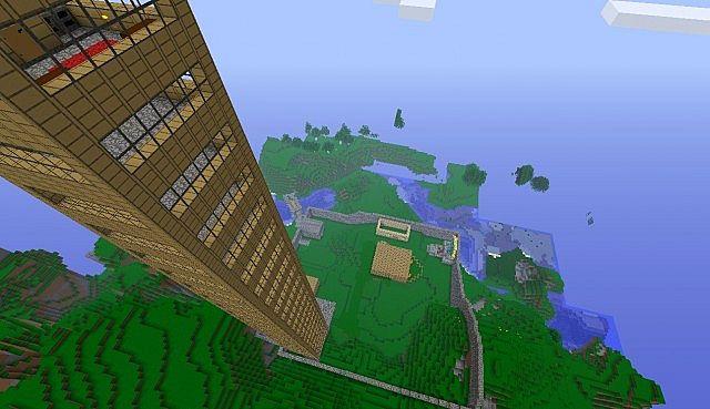 The skyscraper!