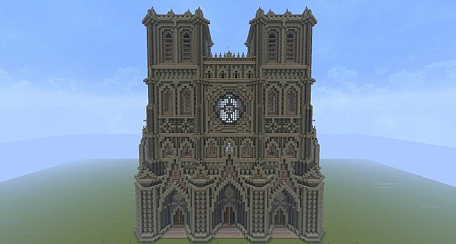 Gothic Cathedral world Download Minecraft Project