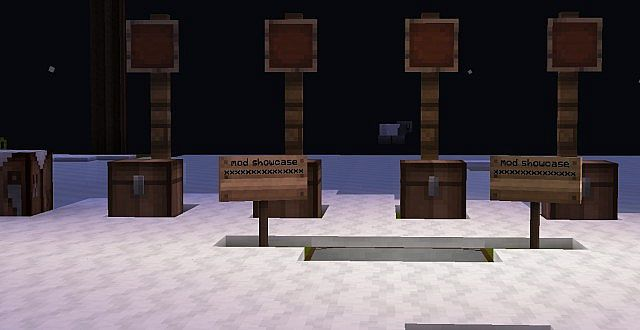 chests and item frames x