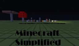 Minecraft Simplified 1.4.6 Minecraft Texture Pack