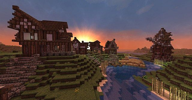 Mondello The Medieval Fishing Village Minecraft Project