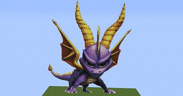 Spyro The Dragon Minecraft Project