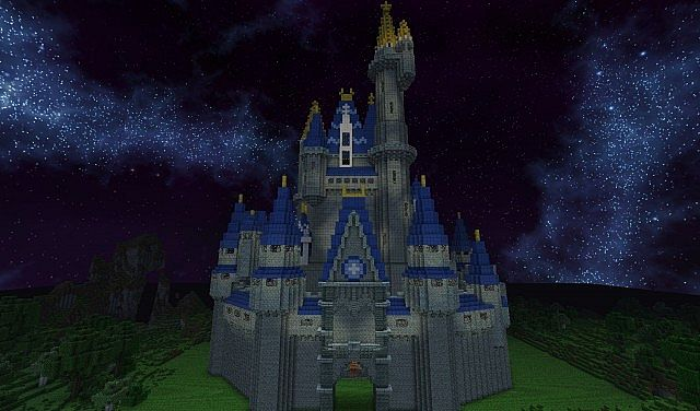 cinderella's castle minecraft project