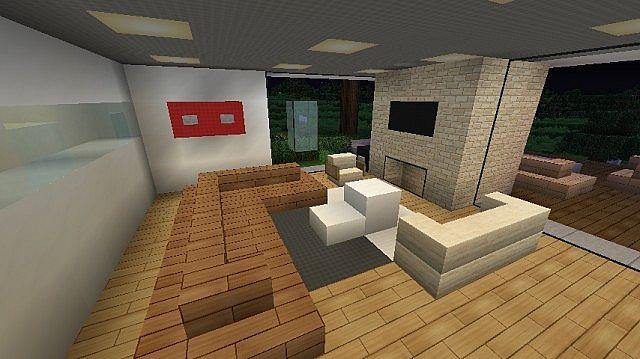 Modern House Avant Garde Minecraft Project