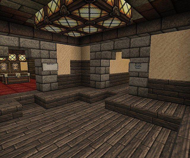 Hobbit Hole Interior Minecraft