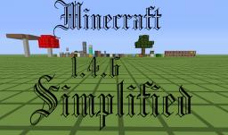 Minecaft Simplified 1.4.6 Minecraft Texture Pack