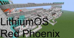 LithiumOS Redstone Computer (Red Phoenix) Minecraft Map & Project