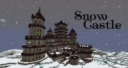 Minecraft Timelapse - Snow Castle Minecraft Project