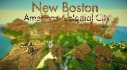 New Boston - American Colonial City Minecraft Project