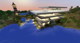 Die Strandhäuser Minecraft Map & Project