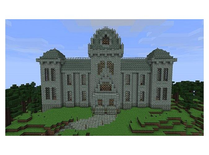Awesome Mansion Minecraft Project. Minecraft Manor Tutorial