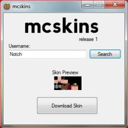 mcskins - Skinning Suite [Windows]