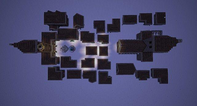 Christmas Village Minecraft Project