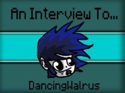 An Interview to DancingWalrus Minecraft Blog
