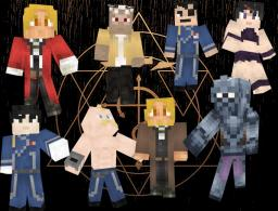 Fullmetal Alchemist Skin Series Minecraft Blog Post