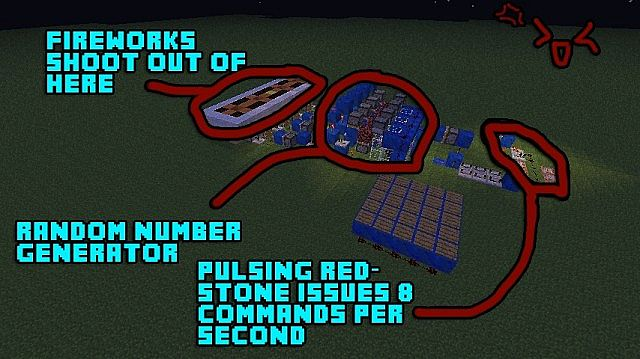 how to make fireworks rocket in minecraft