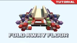 The Fold Away Floor [Expandable 4x4 Trapdoor] Minecraft