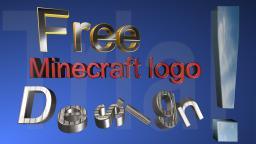 Free Minecraft server design logo Minecraft