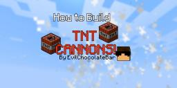 How to Build TNT Cannons! Minecraft Blog