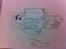 Custom MineCraft Skin Drawings Minecraft