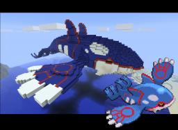 Giant Kyogre Minecraft Map & Project