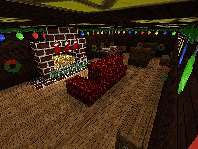 Cozy Christmas House Minecraft Project