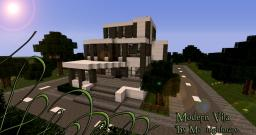 Modern Vila / Mansion Minecraft Map & Project