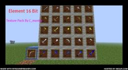 Element 16 Bit [Simple Texture Pack By C_mantra]