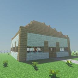 Nuclear Shelter and House Minecraft Map & Project