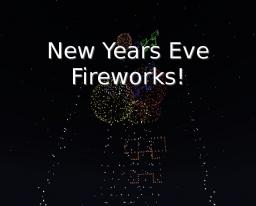 New Years Firework Display Minecraft Map & Project