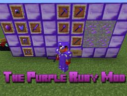 [1.5.2] The Purple Ruby v2.0 [Added Tomahawk!] Minecraft Mod