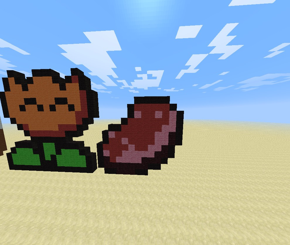 Raw Meat Minecraft Project