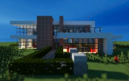 Red Brick Lifestyle Mini (Modern) Minecraft Map & Project