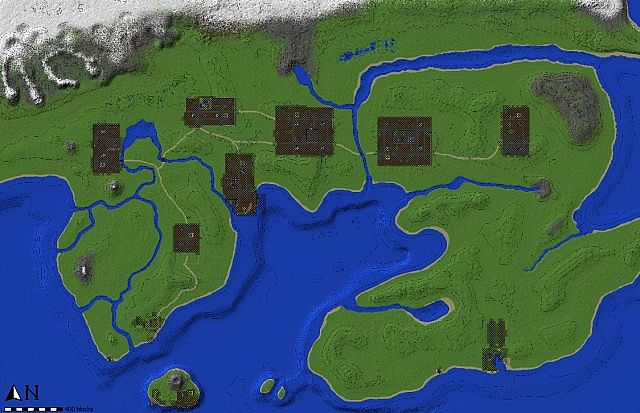Kanto Pokemon World Like in the Anime Minecraft Project – Map World Minecraft