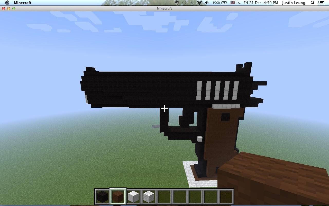 m1911 pistol black Minecraft Project