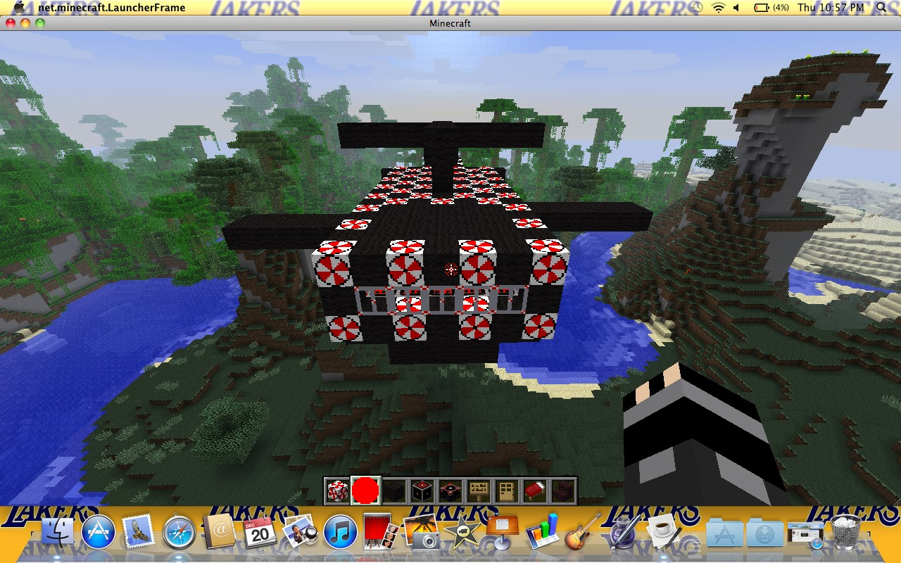 Resident Evil Umbrella Chopper Minecraft Project