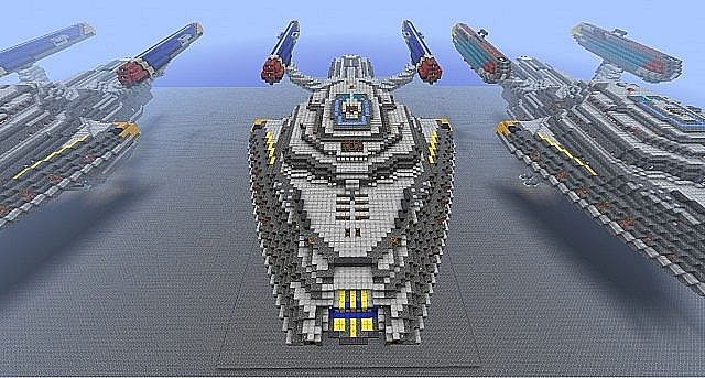Space Ships Minecraft Project