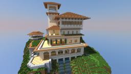 Sunset Villa Minecraft Map & Project