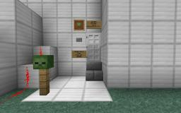 Zombie Testing Center Minecraft Map & Project