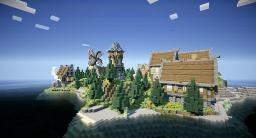 The old town of Runiya Minecraft