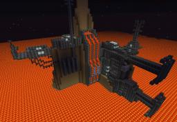 Mustafar (Coming in my Star Wars mod.) Minecraft