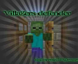 Villagers defender! a minecraft minigame! Minecraft