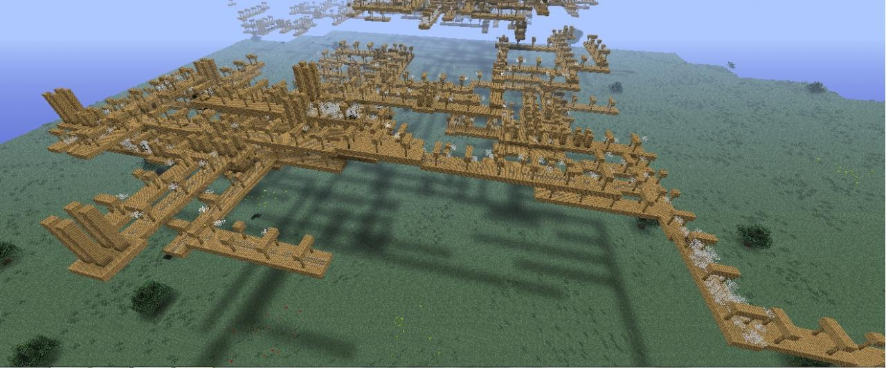 Floating Tunnels Minecraft Project