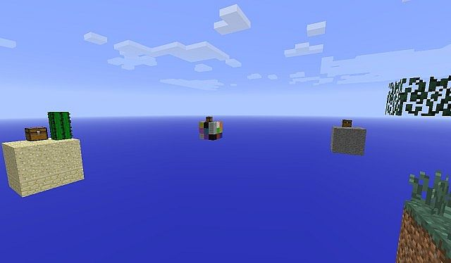 Sky Mini Cubes Minecraft